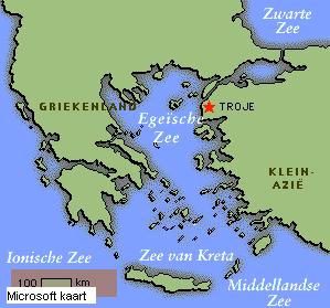 kaart oude griekenland